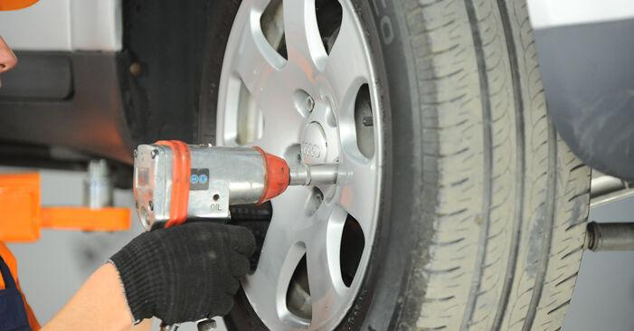 Kiek užtrunka keitimas: Audi A4 b6 2003 Vikšro Valdymo Svirtis - informatyvi PDF instrukcija