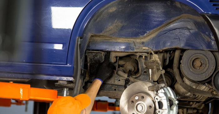 How to change Control Arm on VW T4 Transporter 1990 - free PDF and video manuals