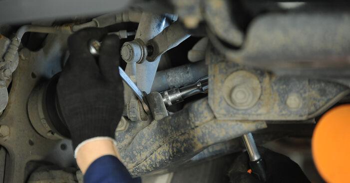 KIA Sorento jc 2.4 2004 Koppelstange wechseln: Kostenfreie Reparaturwegleitungen