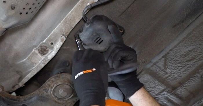 Gør-det-selv udskiftning VW Golf IV Hatchback (1J1) 1.6 16V 2002 Lambdasonde - online læringslektioner