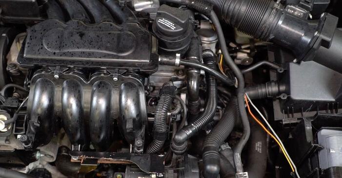 Hvordan man udskifter VW Golf IV Hatchback (1J1) 1.4 16V 1998 Lambdasonde - trin-for-trin manualer og video vejledninger