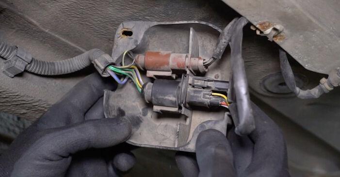 Hvordan man fjerner VW GOLF 1.8 T 2001 Lambdasonde - nem at følge online instruktioner