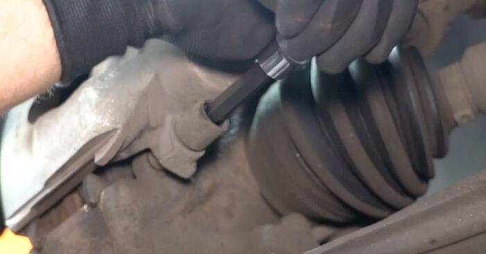 VW GOLF 1.9 TDI ABS Sensor ausbauen: Anweisungen und Video-Tutorials online