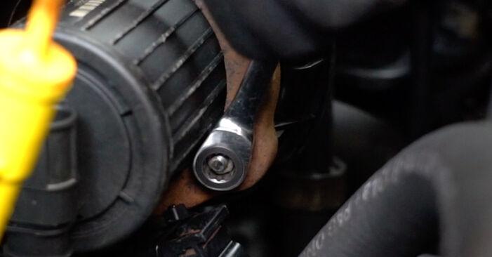 Zündspule beim VW GOLF 1.6 2004 selber erneuern - DIY-Manual