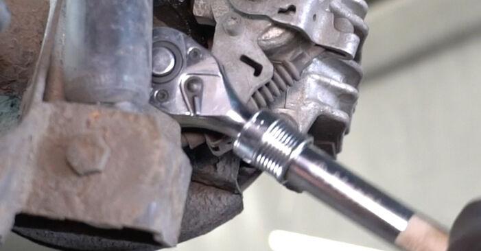 La sostituzione di Sensore ABS su VW Golf 4 2005 non sarà un problema se segui questa guida illustrata passo-passo