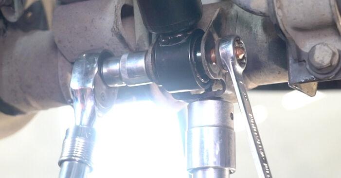Podrobné odporúčania pre svojpomocnú výmenu VW Caddy 3 Van 2005 1.6 Tlmič pruzenia