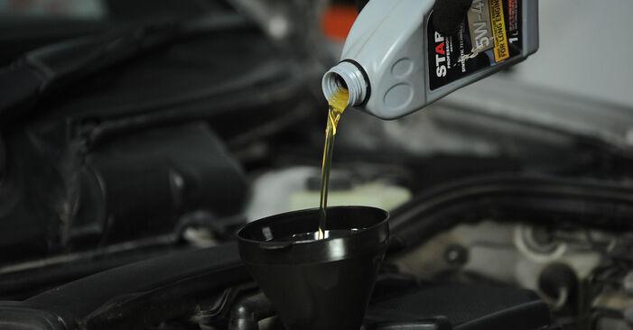 Wie MERCEDES-BENZ E-CLASS E 320 CDI 3.2 (210.026) 1999 Ölfilter ausbauen - Einfach zu verstehende Anleitungen online