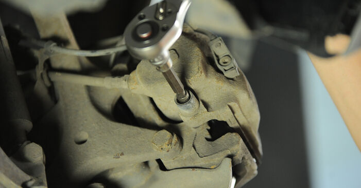Changing of Brake Pads on Mercedes W210 2003 won't be an issue if you follow this illustrated step-by-step guide