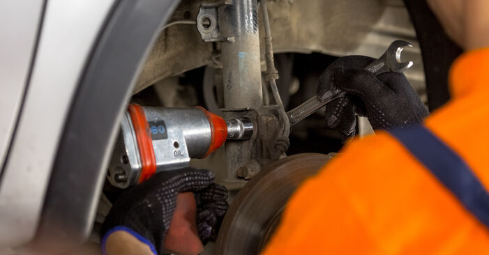 Changing of Shock Absorber on Mercedes W210 2003 won't be an issue if you follow this illustrated step-by-step guide