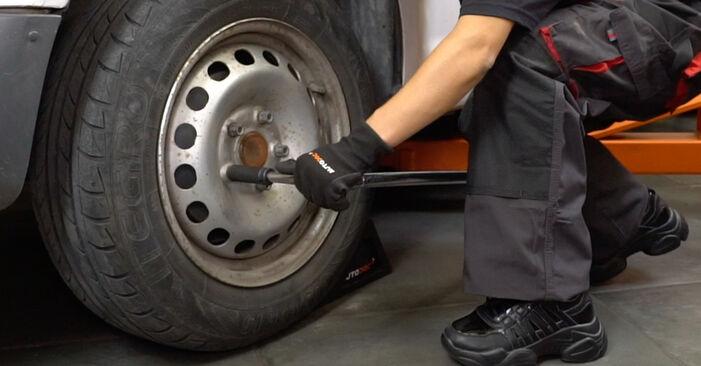 Zweckdienliche Tipps zum Austausch von Bremsscheiben beim VW Caddy III Kastenwagen (2KA, 2KH, 2CA, 2CH) 2.0 SDI 2006