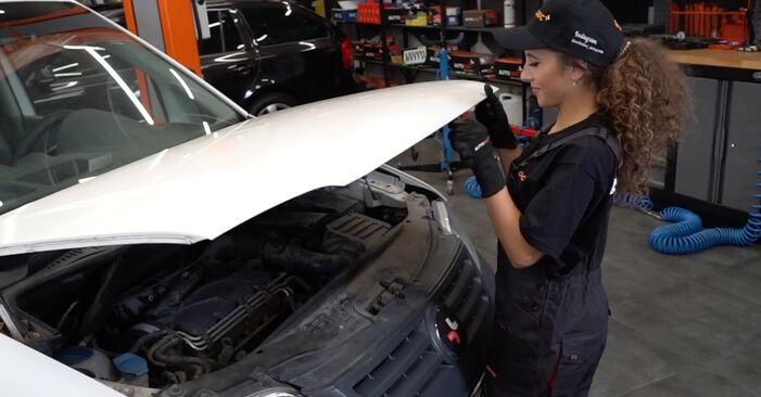 Come cambiare Pastiglie Freno su VW Caddy 3 Van 2004 - manuali PDF e video gratuiti