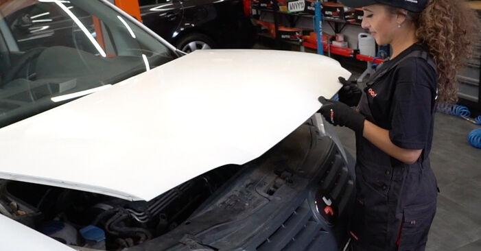 Wie Bremsbeläge VW Caddy 3 kasten 1.9 TDI 2004 tauschen - Kostenlose PDF- und Videoanleitungen