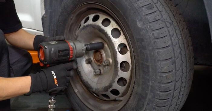 Bremsbeläge am VW Caddy III Kastenwagen (2KA, 2KH, 2CA, 2CH) 2.0 EcoFuel 2009 wechseln – Laden Sie sich PDF-Handbücher und Videoanleitungen herunter