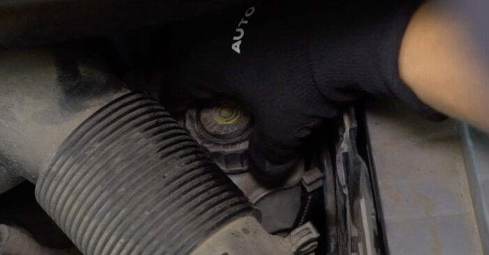 Bremsbeläge Ihres VW Caddy 3 kasten 1.9 TDI 2012 selbst Wechsel - Gratis Tutorial