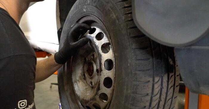 Kaip pakeisti VW Caddy III Van (2KA, 2KH, 2CA, 2CH) 2004 Spyruoklės - patarimai ir gudrybės