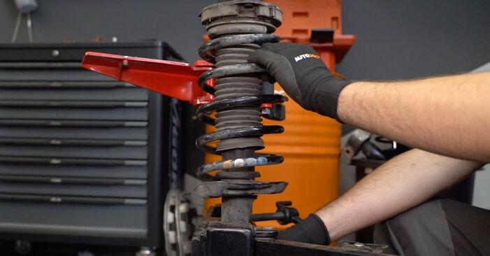 Как да сменим VW Caddy III Ван (2KA, 2KH, 2CA, 2CH) 1.9 TDI 2005 Пружинно окачване - стъпка по стъпка инструкции и видео ръководства