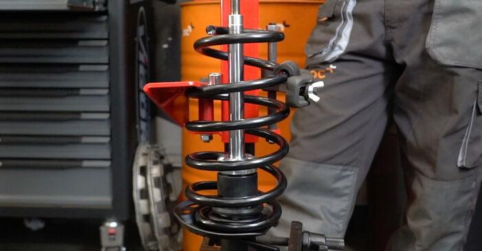Смяна на Пружинно окачване на VW Caddy 3 Ван 2014 1.9 TDI самостоятелно