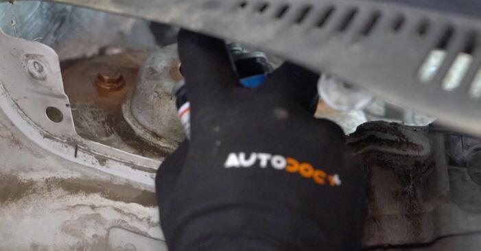 Стъпка по стъпка препоруки за самостоятелна смяна на VW Caddy 3 Ван 2005 1.6 Пружинно окачване
