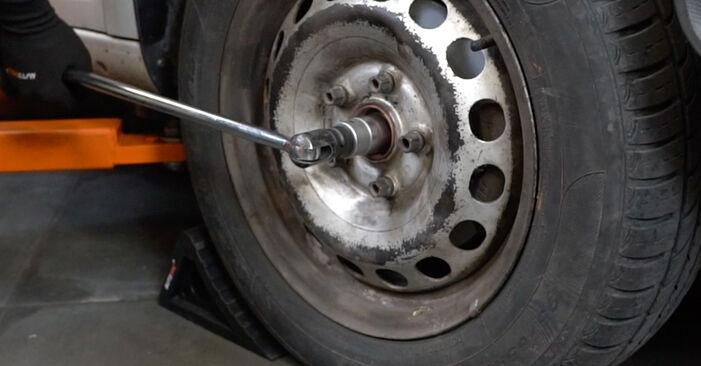 Combien de temps dure le remplacement : Coupelle d'Amortisseur sur VW Caddy 3 Van 2012 - manuel PDF informatif