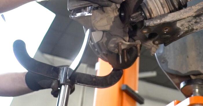 Caddy III Van (2KA, 2KH, 2CA, 2CH) 1.6 2015 Coupelle d'Amortisseur manuel d'atelier pour remplacer soi-même