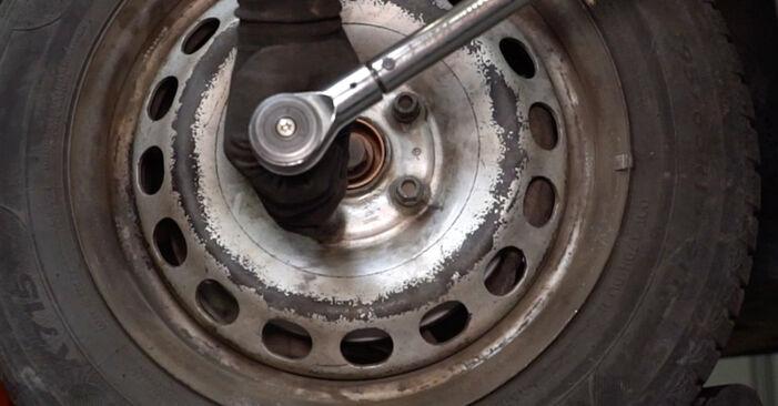 À quel point est-il difficile de le faire soi-même : télécharger le guide illustré pour le changement de Coupelle d'Amortisseur sur VW Caddy 3 Van 2.0 TDI 16V 2010