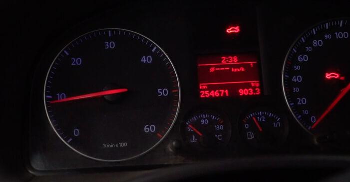Como trocar Vela de Incandescência no VW Caddy III Van (2KA, 2KH, 2CA, 2CH) 2004 - dicas e truques