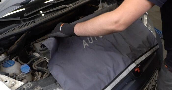 Recomendações passo a passo para a substituição de VW Caddy 3 Van 2005 1.6 Vela de Incandescência por si mesmo