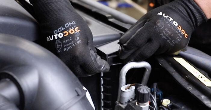 Hoe BMW 5 Touring (E39) 530d 3.0 1995 Thermostaat vervangen – stapsgewijze handleidingen en videogidsen