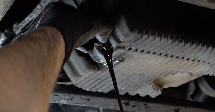 3 Limousine (E36) 318i 1.8 1998 Ölfilter - Anleitung zum selber Austauschen