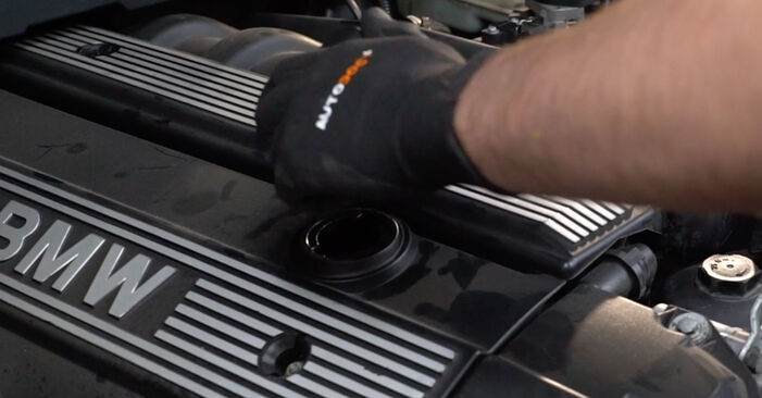 BMW 3 SERIES 1994 Ölfilter Schritt-für-Schritt-Tutorial zum Teilewechsel