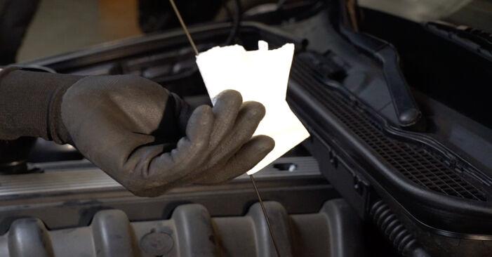 Tauschen Sie Ölfilter beim BMW E36 1997 320i 2.0 selber aus