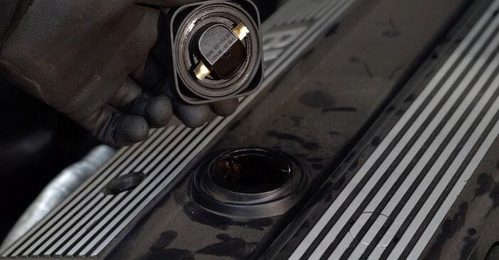 BMW E36 325tds 2.5 1996 Ölfilter wechseln: Gratis Reparaturanleitungen
