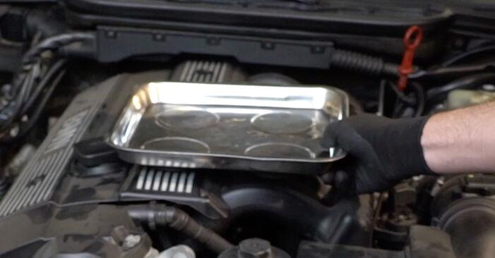 Wie man Ölfilter beim BMW 3 Limousine (E36) 1999 austauscht – Downloaden Sie sich PDF-Anleitungen und Video-Tutorials