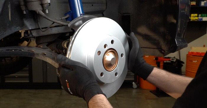 Wechseln Bremsscheiben am BMW 3 Limousine (E36) 316i 1.6 1997 selber