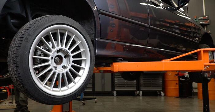 Bremsscheiben BMW E36 325i 2.5 1996 wechseln: Kostenlose Reparaturhandbücher