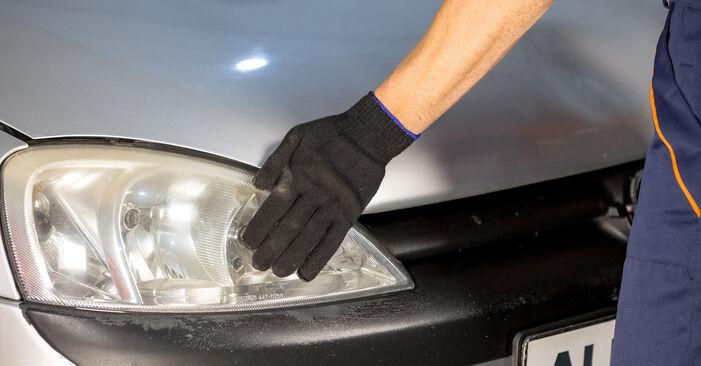 Jak vyměnit Odpruzeni na OPEL Corsa C Hatchback (X01) 2002 - tipy a triky