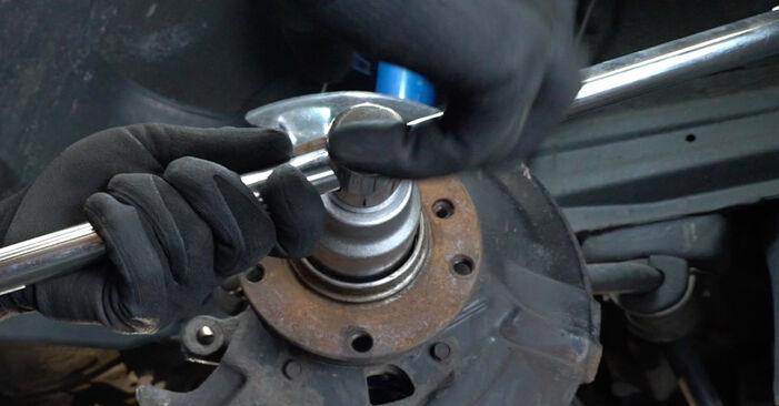 Trinn-for-trinn anbefalinger for hvordan du kan bytte BMW E36 2000 318i 1.8 Hjullager selv