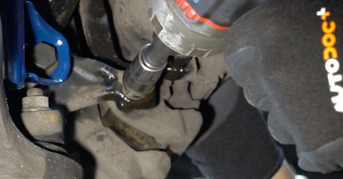 Vanskelighetsgrad: Bytte av Hjullager på BMW E36 323i 2.5 2000 – last ned illustrert veiledning