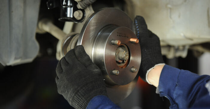 DIY replacement of Brake Discs on NISSAN MICRA II (K11) 1.4 i 16V 2006 is not an issue anymore with our step-by-step tutorial
