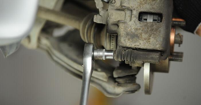 Bremsscheiben Ihres Nissan Micra k11 1.4 i 16V 2000 selbst Wechsel - Gratis Tutorial
