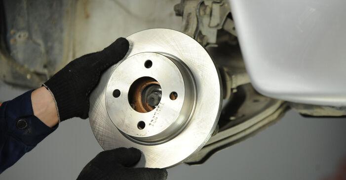Radlager Ihres Nissan Micra k11 1.4 i 16V 2000 selbst Wechsel - Gratis Tutorial
