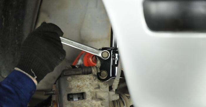 Schritt-für-Schritt-Anleitung zum selbstständigen Wechsel von Nissan Micra k11 2005 1.0 Federn