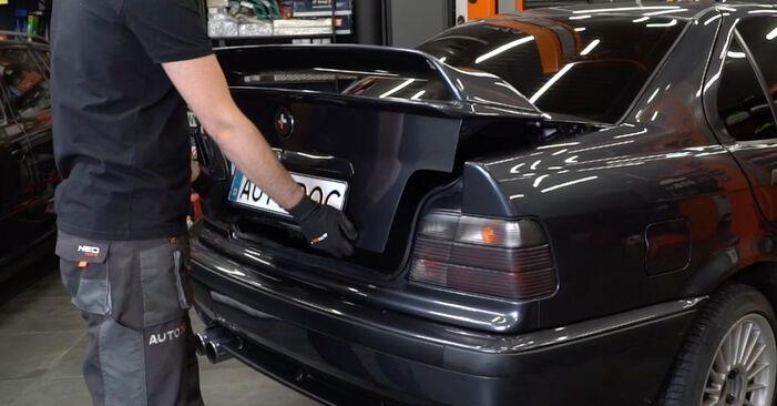 Bytte BMW 3 SERIES 325td 2.5 Fjærbenslager: Veiledninger og videoer på nettet
