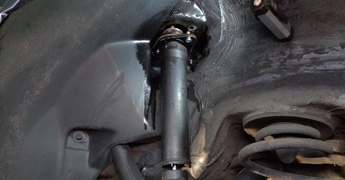 Austauschen Anleitung Stoßdämpfer am BMW E36 1991 320i 2.0 selbst