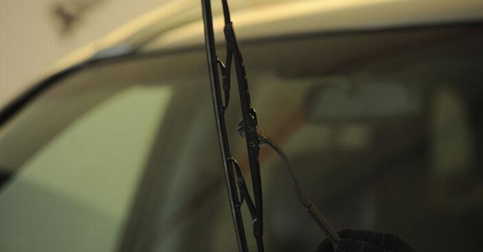 Wie Scheibenwischer Hyundai Santa Fe cm 2.2 CRDi 4x4 2005 tauschen - Kostenlose PDF- und Videoanleitungen