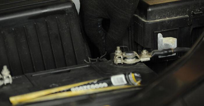 Luftfilter Hyundai Santa Fe cm 2.2 CRDi 2007 wechseln: Kostenlose Reparaturhandbücher
