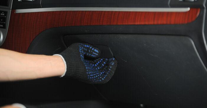 Wymiana Filtr powietrza kabinowy Hyundai Santa Fe cm 2005 - darmowe instrukcje PDF i wideo