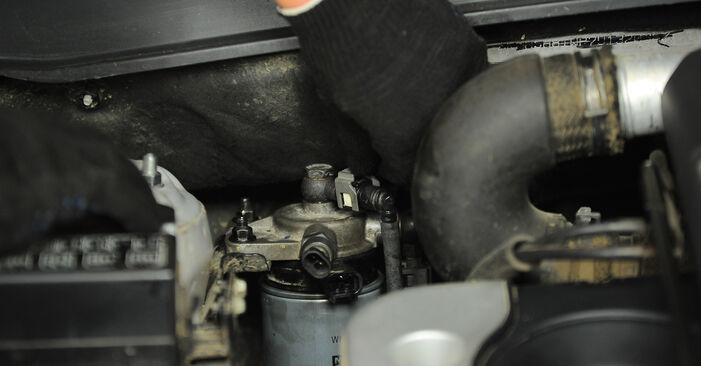Zweckdienliche Tipps zum Austausch von Kraftstofffilter beim HYUNDAI SANTA FÉ II (CM) 2.2 CRDi 2011