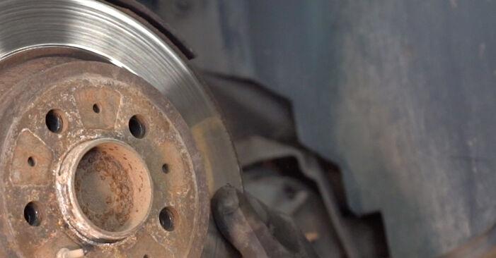 Bytte SANTA FÉ II (CM) 2.2 CRDi GLS 2008 Bremseskiver – gjør det selv med vår veiledning