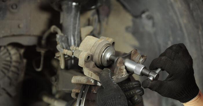 Stap voor stap tips om Mazda 3 Sedan 2009 1.4 Remblokken zelf te wisselen